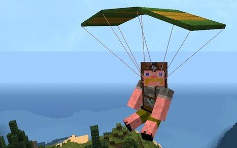 Parachute Mod 1.7.10/1.7.2 | Minecraftero | Scoop.it