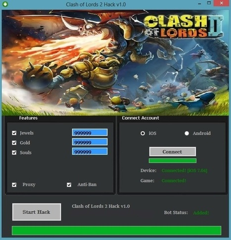 Clash of Lords 2 Hack Tool - Free Jewels,Gold and Souls | Clash of Lords 2 Hack | Scoop.it