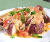 Papas Chorreadas - Colombian Potatoes with Cheese Sauce   Comida, comida, comida!   Scoop.it