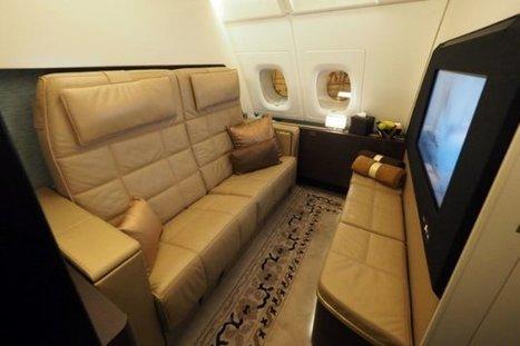 Une suite luxueuse sur le vol le plus cher du monde | Le tourisme autrement | Scoop.it
