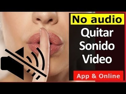 2 Formas: Quitar Audio a un video (Programa & Online) | PCWebtips | Educacion, ecologia y TIC | Scoop.it