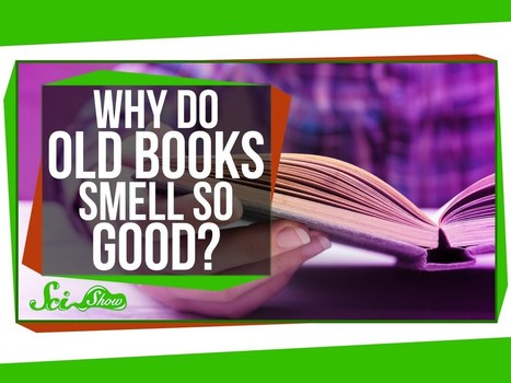 What causes the 'smell of books'? - TeleRead News: E-books, publishing, tech and beyond | Library world, new trends, technologies | Scoop.it