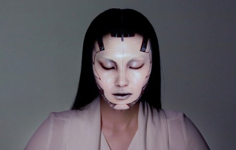 Omote Demonstrates That Real-Time Face Tracking And Projection Mapping Is Possible | DigiPharmaBlog | Scoop.it