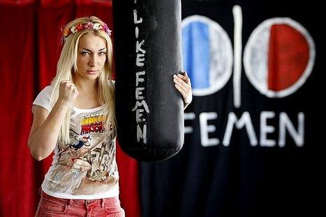 La France accorde l'asile à la chef des Femen | Europe | bambou148 | Scoop.it