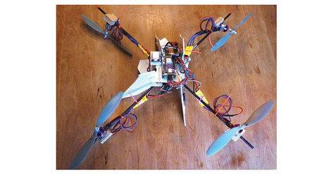Padre construye cuadricóptero para que acompañe a su hijo a tomar el bus | Creatividad en la Escuela | Scoop.it