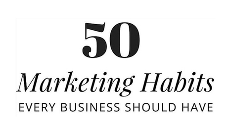 50 Marketing Habits that are Essential for Small Business Success | Small Business Marketing | Scoop.it