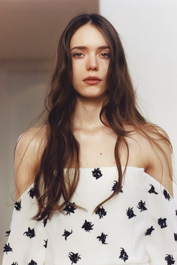 The Nymph: Stacy Martin in Vogue | Tokyo James | Scoop.it