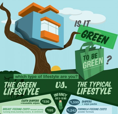 A Lifetime of Savings by Living Green (Infographic) | Yan's Earth | Scoop.it