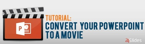 Tutorial: Convert your PowerPoint to a movie | omnia mea mecum fero | Scoop.it