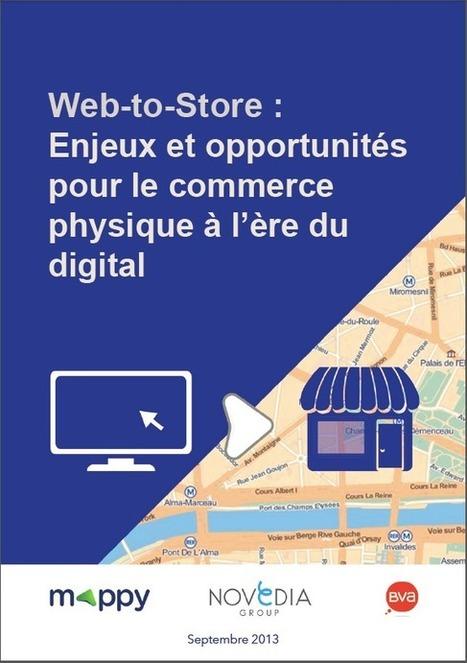 """[Livre blanc] """"Web-to-store : enjeux et opportunités pour le commerce physique""""   Time to Learn   Scoop.it"""