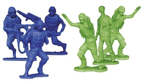 Stage Your Own War With the Zombies vs.Zombie Hunters 'Army Men' Figures | VIM | Scoop.it