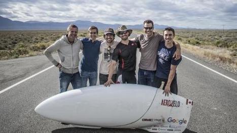 Tempo-Rekord: Windschnittiges Fahrrad erreicht 139 km/h | Weblese | Scoop.it
