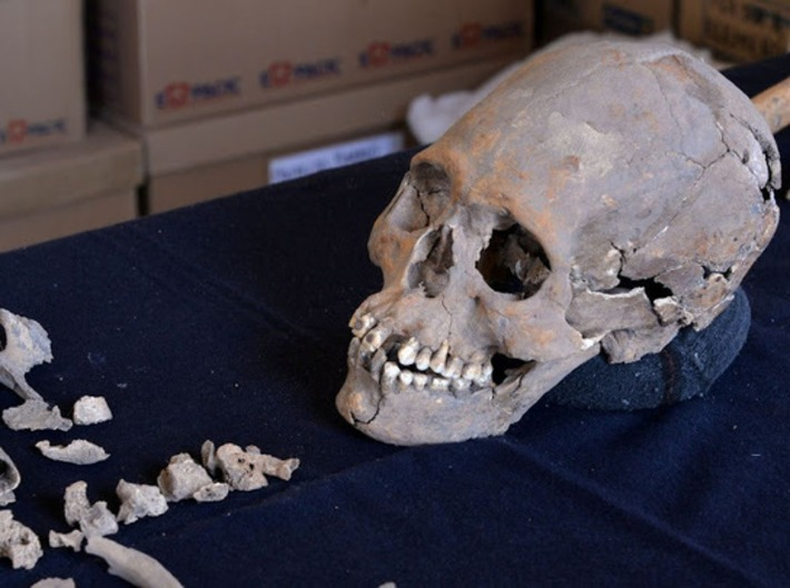 1,600 year old skeleton with stone encrusted teeth found in Mexico | The Archaeology News Network | Kiosque du monde : Amériques | Scoop.it
