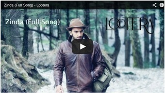 Zinda Video Song – Lootera (2013) - 99share.in   Latest In Bollywood   Scoop.it
