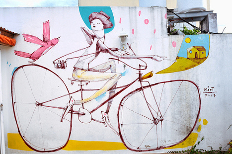 Bicycle Street Art by Mart | Street Art and Street Artists | Scoop.it