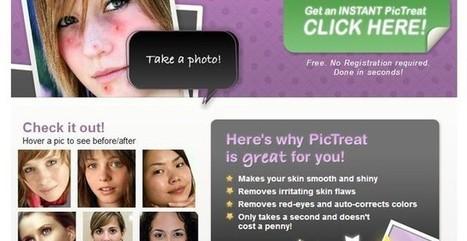 Pictreat, utilidad web para corregir fotos con imperfecciones en el rostro | Antonio Martinez | Scoop.it
