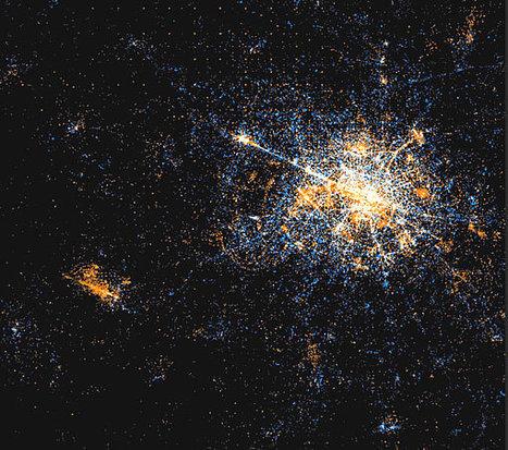 Etonnant : l'activité sur Twitter et Flickr vue par... satellite ! | Chrysalyde 11 | Scoop.it