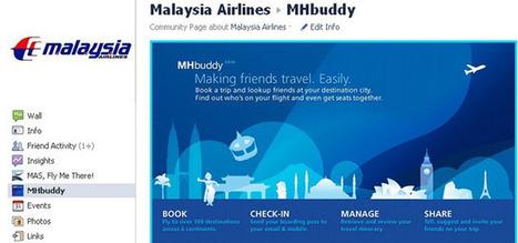Airline's Facebook app lets passengers choose seats near their friends | Tourism Social Media | Scoop.it