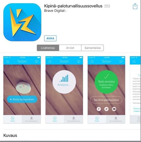 Kipinä-paloturvallisuussovellus | Apps for elderly - Sovelluksia senioreille | Scoop.it