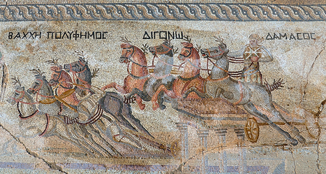 Chariot Racing Mosaic Discovered in Cyprus - Archaeology Magazine | Aux origines | Scoop.it