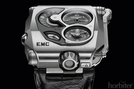 """URWERK presents the EMC: The first high-end mechanical watch with """"artificial intelligence"""" - Horbiter   Biomimetics   Scoop.it"""
