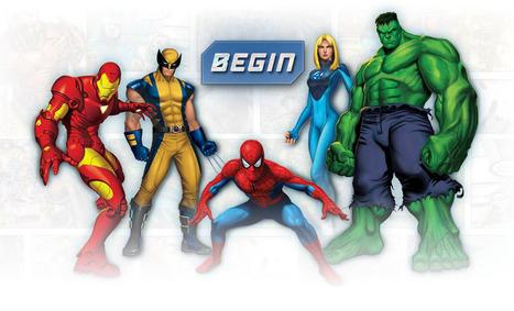 Create Your Own Superhero | Design Arena | Scoop.it