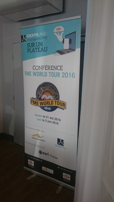 GRAPH LAND Blog » Retour sur le FME World Tour 2016 | SSII | Scoop.it