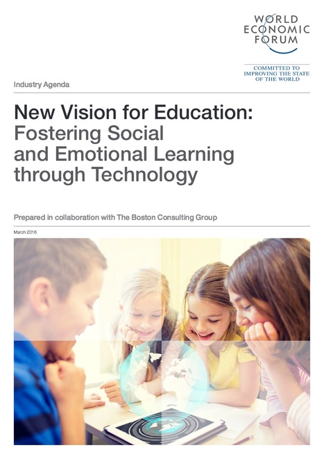 [PDF] New Vision for Education: Fostering Social and Emotional Learning through Technology | Good ideas about learning | Scoop.it