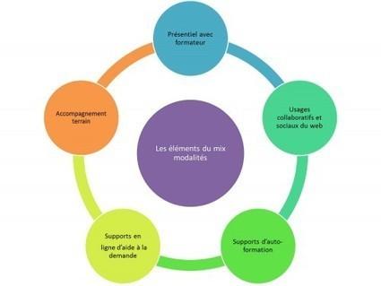 Formation blended (mixte): chacun cherche son mix   Technologie et éducation   Scoop.it