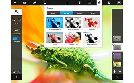 Adobe Photoshop Touch se actualiza para adaptarse a los iPad mini y Nexus 7 | Administracion Redes | Scoop.it