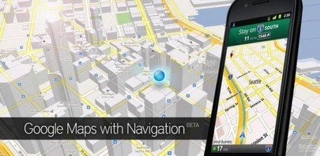 Always be on top: example of Google Maps 6.0 for Android with indoor mapping - JulienRio.com | Digital Marketing, Brand Strategy, Content Marketing Strategies | Scoop.it