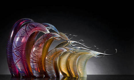 Remarkable Sculptures by Glass-Maker Rick Eggerts | Landart, art environnemental | Scoop.it