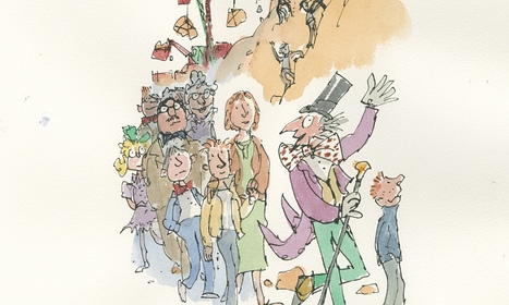 Lost chapter of Charlie and the Chocolate Factory published   Literati   Scoop.it
