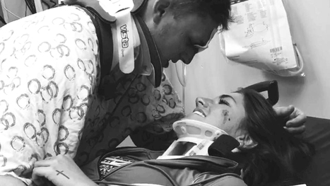 'It's God's doing': Young couple reunites at hospital after surviving horrific car crash | Kickin' Kickers | Scoop.it