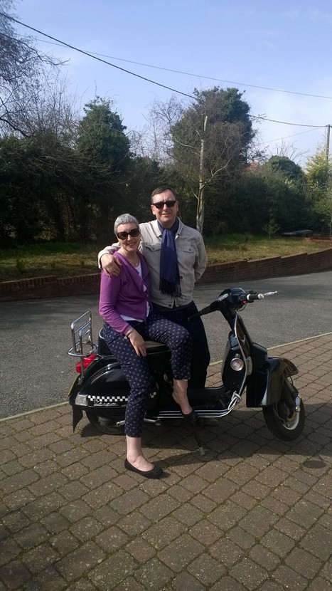 Littlebury man to ride Vespa to Italy for charity | Vespa Stories | Scoop.it