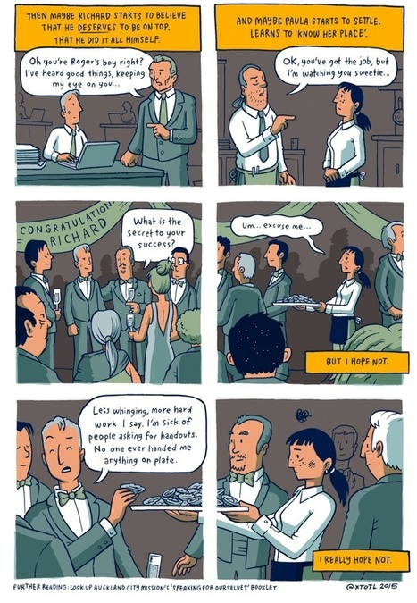 A short comic gives the simplest, most perfect explanation of privilege I've ever seen. | Ken's Odds & Ends | Scoop.it