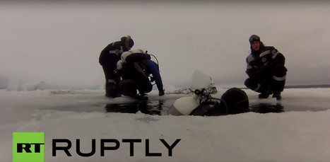 Russians Make World's Deepest Ice Dive • Scuba Diver Life | DiverSync | Scoop.it