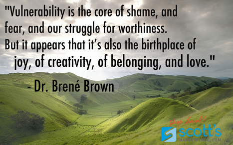Brene Brown and the Power of a Vulnerable Leader | organic farming | Scoop.it