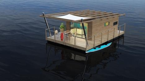 Aquashell : l'éco-habitat flottant insolite | Constructions écologiques | Scoop.it