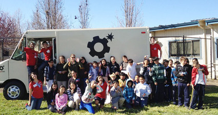 SparkTruck Introduces Kids to 3D Printing | Big and Open Data, FabLab, Internet of things | Scoop.it