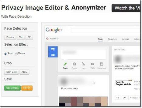 [COM WEB] Ajouter du flou sur une image (visage texte) | Communication Web | Scoop.it