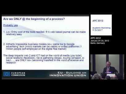 Research and Innovation. From Web 2.0 to Science 2.0? The Potential of ICT - YouTube | ICT & Education | Scoop.it
