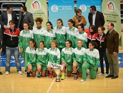Málaga vencedor en el Campeonato de Andalucia de Selecciones Provinciales Infantil Femenino 13 - 14 - Federación Andaluza de Baloncesto | Basket-2 | Scoop.it