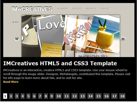 Free HTML5 Templates | Bringing modern web standards to everyone - Part 2 | 1-MegaAulas - Ferramentas Educativas WEB 2.0 | Scoop.it