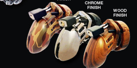 GAME CHANGER: Male Chastity Devices Come In Camo And Chrome, Finally | Things that benefit | Scoop.it