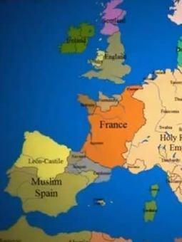 Así cambió el mapa político de Europa durante los últimos mil años   Socied@d Reticular   Scoop.it