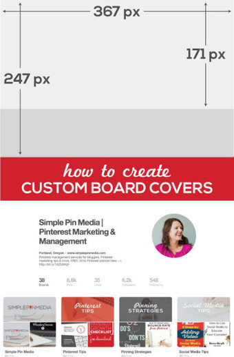 How to Create Custom Board Covers on Pinterest | Pinterest | Scoop.it