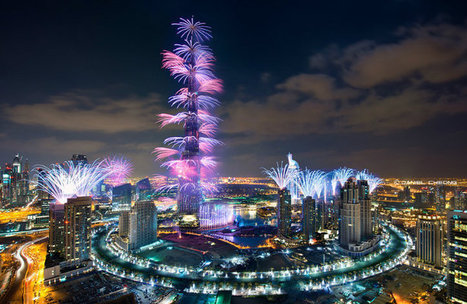 Dubai 2014 y su récord Guinness por fuegos artificiales en Latam Review | Technology  Reviews | Scoop.it