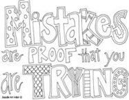 all quotes coloring pages- AMAZING! - http://doitdarling.com | Good teaching ideas TechDivaAshlee | Scoop.it