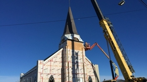 Rebuilt Whitney Pier church gets new steeple in 'a testament to grit and goodwill' | Nova Scotia Building Inspections | Scoop.it
